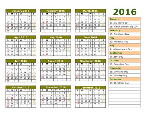 printable calendar 2015 europe 2016 printable calendar with european holidays