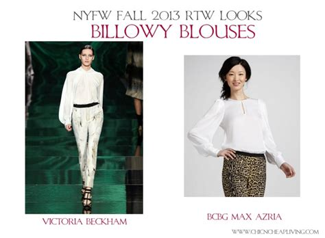 Home Decor Websites Cheap by Nyfw Fall 2013 Rtw Billowy Blouses By Chic N Cheap Living