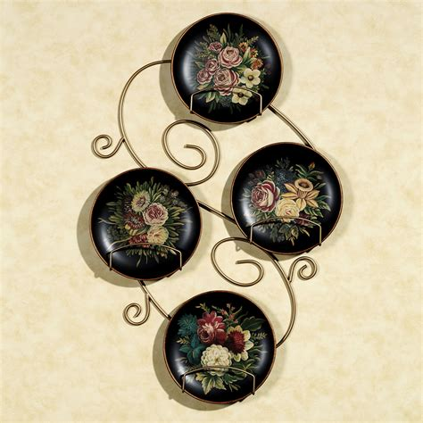 Decorative Hanging Plates by Wall Mounted Decorative Plate Holder Cbaarch