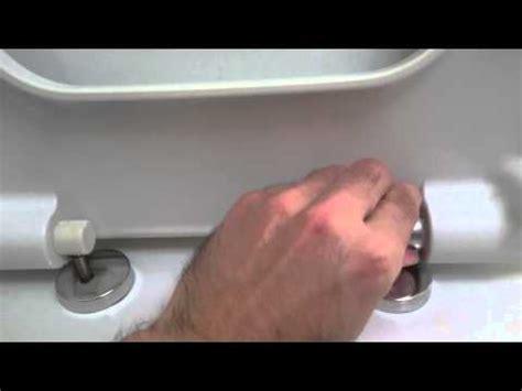 remove vitra shift toilet seat youtube