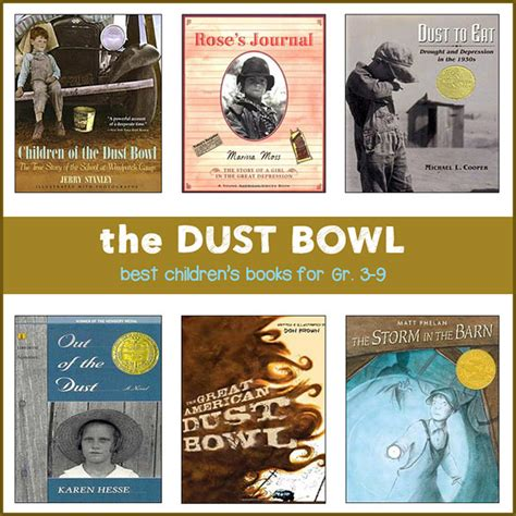 dust picture book the dust bowl for