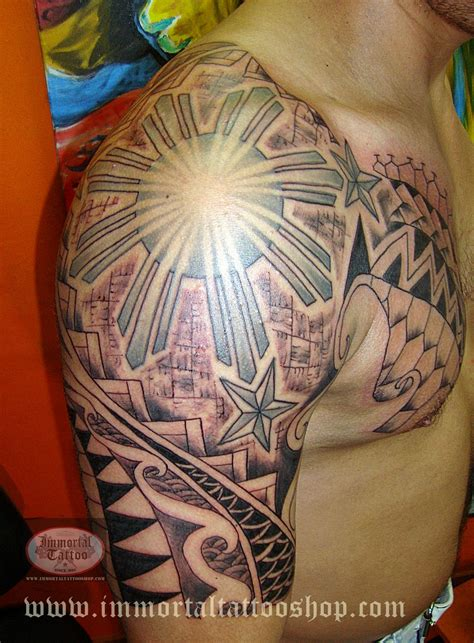 philippines tribal tattoo filipinotattoo tribal