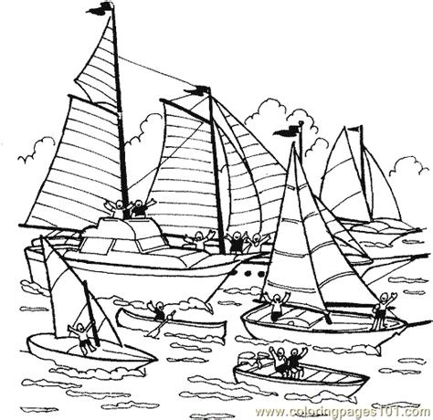 coloring pages of water transport boat coloring page 33 coloring page free water transport