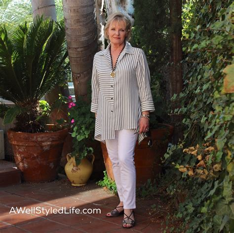 style women over 60 slenderizing women over 50 in black and white style sweet spot 183 a