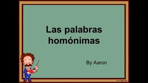 imagenes de palabras homografas las palabras hom 243 nimas youtube
