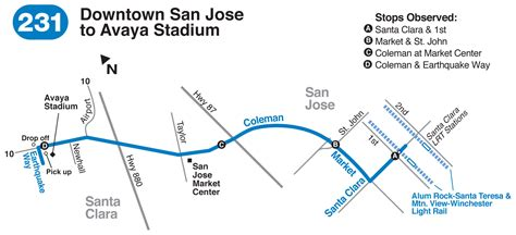san jose earthquakes directions parking directions san jose earthquakes