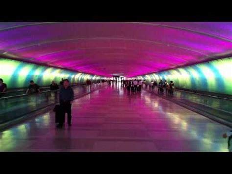 The Light Tunnel At Detroit Metro Airport Mcnamara