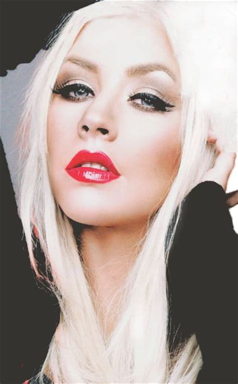 Aguilera On The Power Of Mascara by Aguliera Giving Us Climax 90s