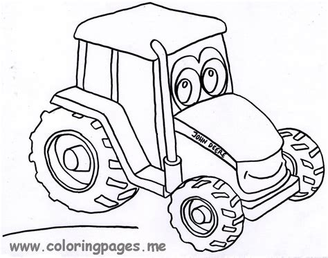 printable coloring pages deere tractors deere tractor coloring pages to print coloring home