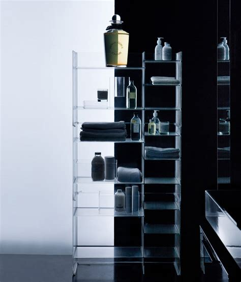 kartell bathroom furniture plastic meets ceramic in kartell by laufen interiorzine