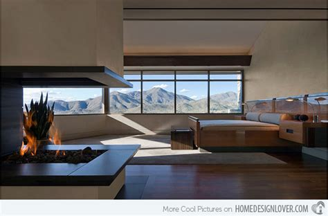 bedroom fireplace design 20 modern bedroom with fireplace designs house