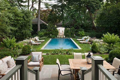 backyard with pool and garden garden with pool in backyard small backyard pools pool traditional with bluestone patio