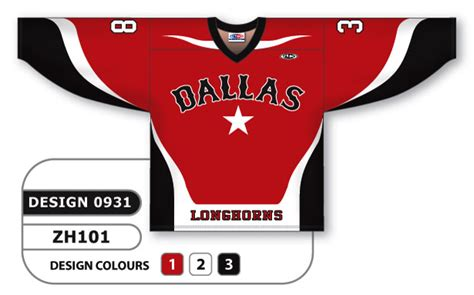 design your hockey jersey online sublimated hockey jersey dallas series custom made or blank