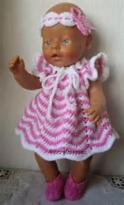 Poppenkleertjes haken baby born