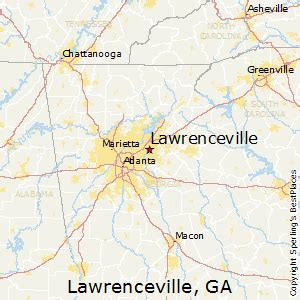best places to live in lawrenceville