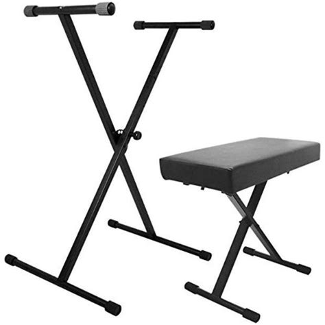 yamaha keyboard stand and bench on stage stands keyboard stand k7190 and kt7800 bench pak