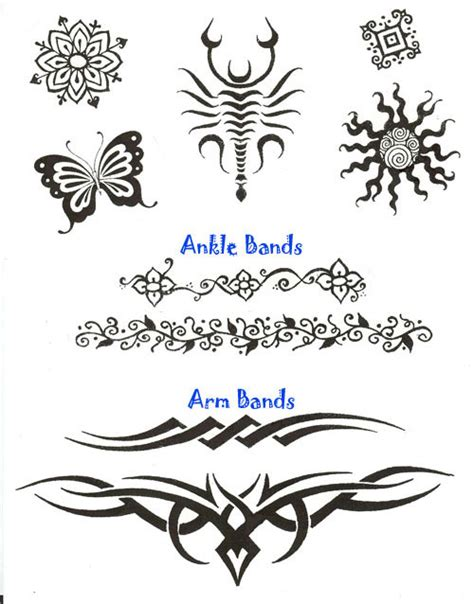 simple tribal henna tattoo henna easy designs tribal makedes