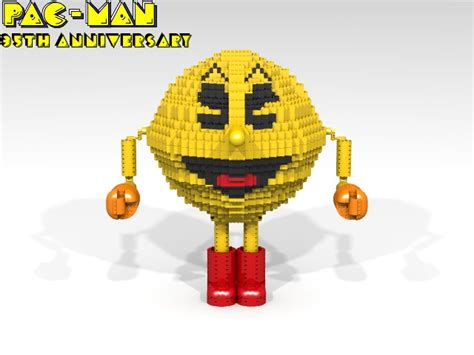 School Lego Alike lego ideas pacman 35th anniversary