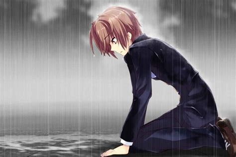 anime boy alone wallpaper sad anime boy wallpaper 183