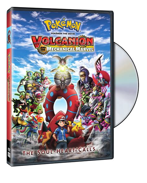 film marvel in dvd pokemon movie 19 volcanion and the mechanical marvel dvd