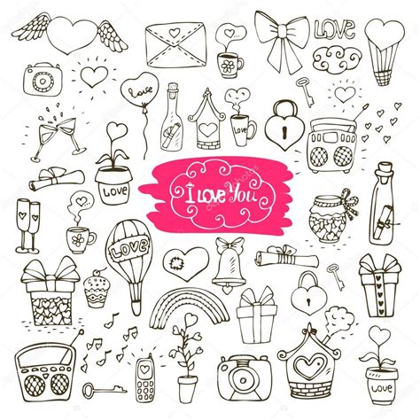 doodle korea doodle icons stock vector 169 macrovector 35242033