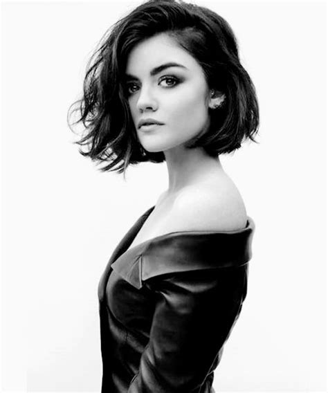 lucy hale short hair bob lucy hale her hair and short hair on pinterest