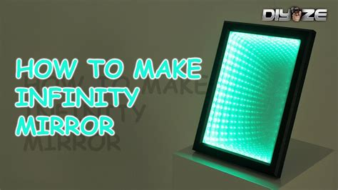how to make infinity lights how to make infinity mirror led illusion mirror