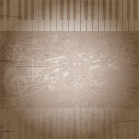 imagenes de notas musicales sin fondo fondo musical desgastado descargar vectores gratis