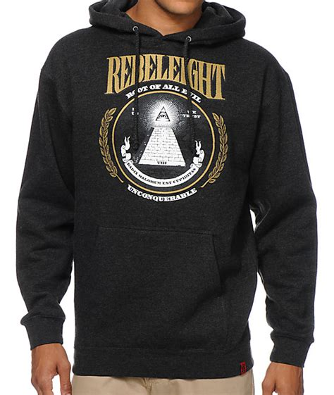 Hoodie Rebel8 rebel8 root of all evil charcoal pullover hoodie at zumiez pdp