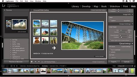 tutorial lightroom 6 youtube lightroom 5 tutorial part 4 creating a web gallery youtube