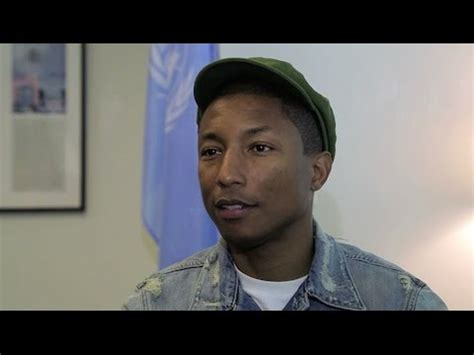 pharrell williams united nations pharrell williams brings happiness to united nations