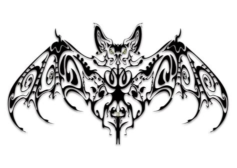 tribal bat tattoos 10 cool bat design gallery lawas