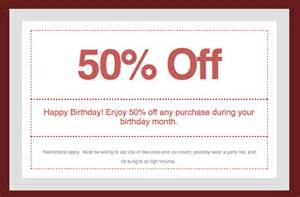coupon templates free 13 coupon templates free sle exle