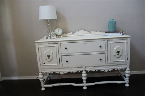 distressed white furniture style and stuff