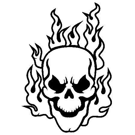 printable tattoo stickers free pics of flaming skulls download free clip art free