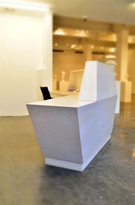 Custom Made Reception Desks Custom Made Futuristic Reception Desk By Open Square Woodworking Custommade