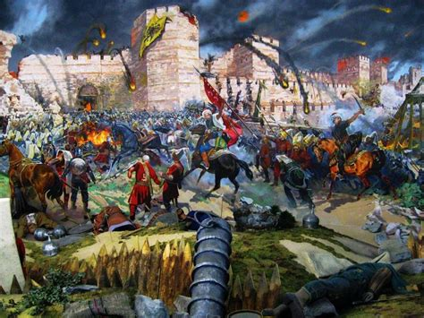 how did the ottoman empire fall may 29 1453 the fall of constaninople by the ottoman army
