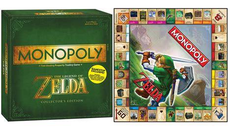 legend of zelda monopoly map le monopoly the legend of zelda dozodomo