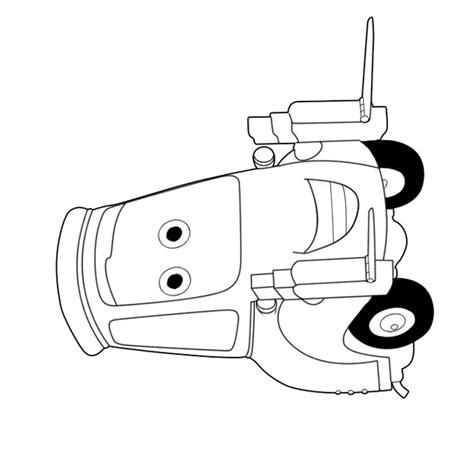 Colouring Pages Disney Cars 2