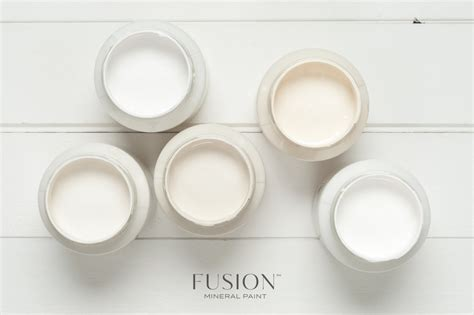 White Dining Room Set colours fusion mineral paint