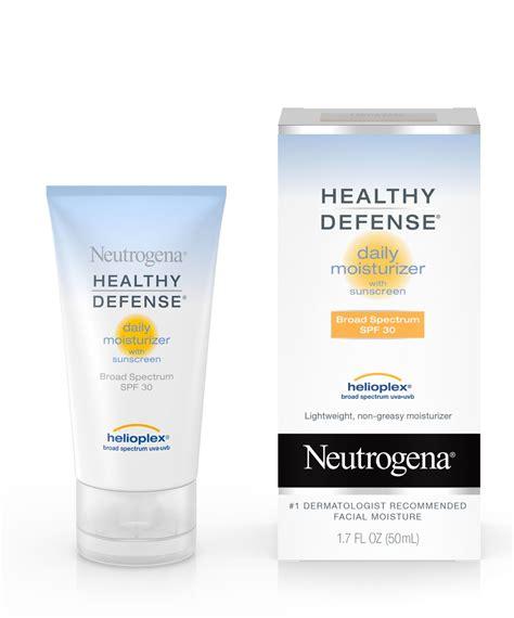 neutrogena healthy defense daily moisturizer light tint healthy defense 174 daily moisturizer with spf 30 neutrogena 174