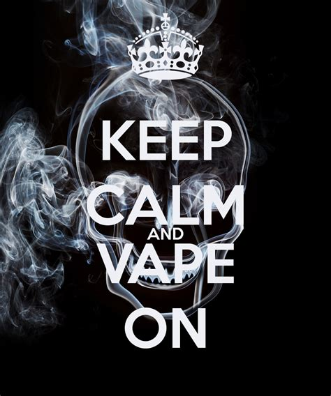 Tshirt Keep Calm And Vape On vaporized vapors liquids accessories in hattiesburg ms