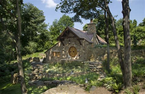 hobbit house rustic exterior philadelphia by