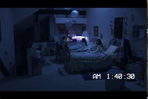 parental guidance bathroom scene paranormal activity 3 kids bedroom katie dragged from