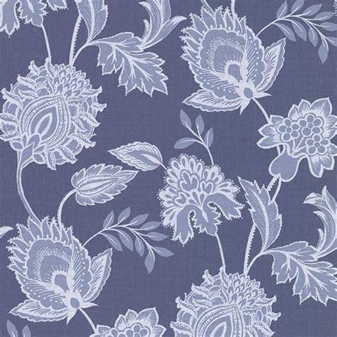 blue jacobean wallpaper danfi blue jacobean wallpaper from the savor collection by
