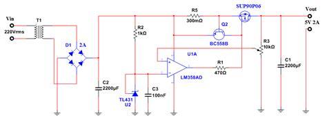 schema alimentatore switching alimentatore regolabile da 0 5a 20a con protezione ne555