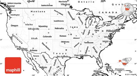 simple united states map unlabeled map of america my