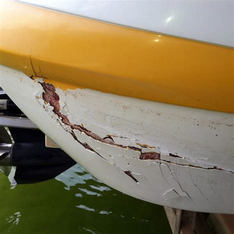fiberglass boat repair crack mach boats fiberglass repair fix damage to your hull