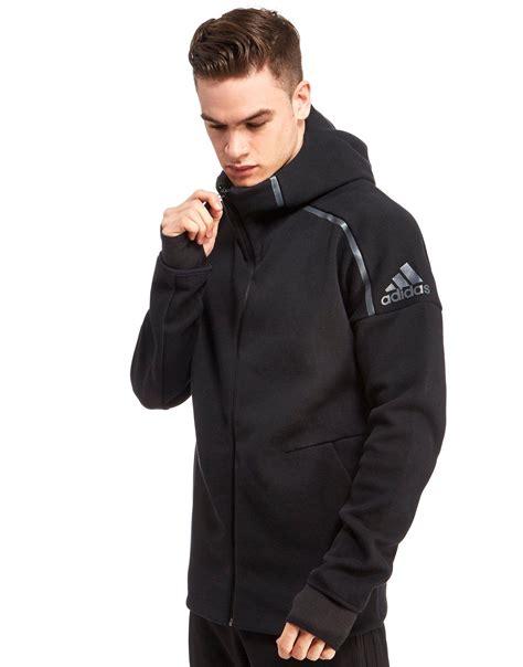 Asli Original Jaket Adidas Tech Fleece Hoodie Black 708096 010 adidas z n e hoodie jd sports