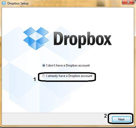 dropbox itu apa cara membuat 2 account dropbox pada 1 pc komputer
